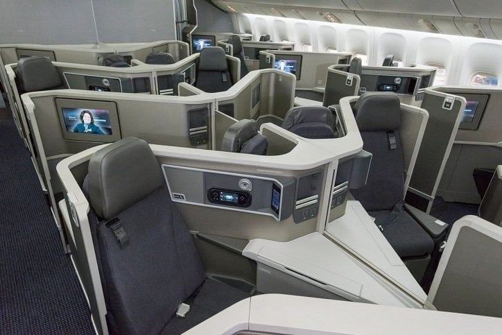 american 777 200 business class
