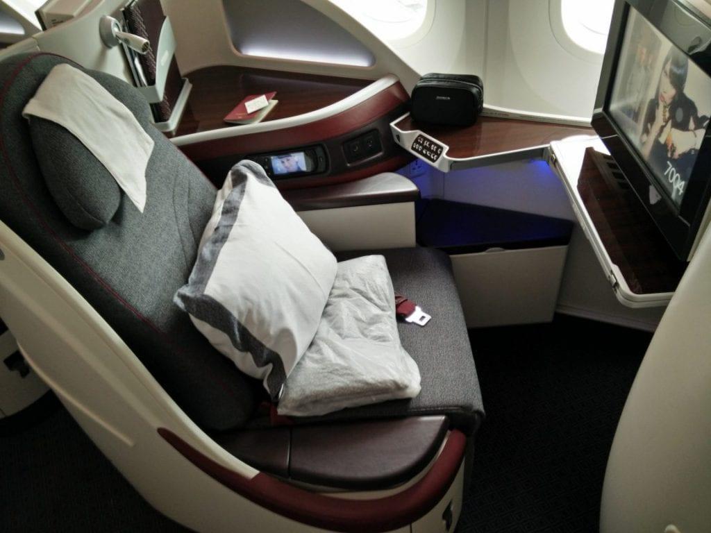 Qatar Airways B787 Sitz