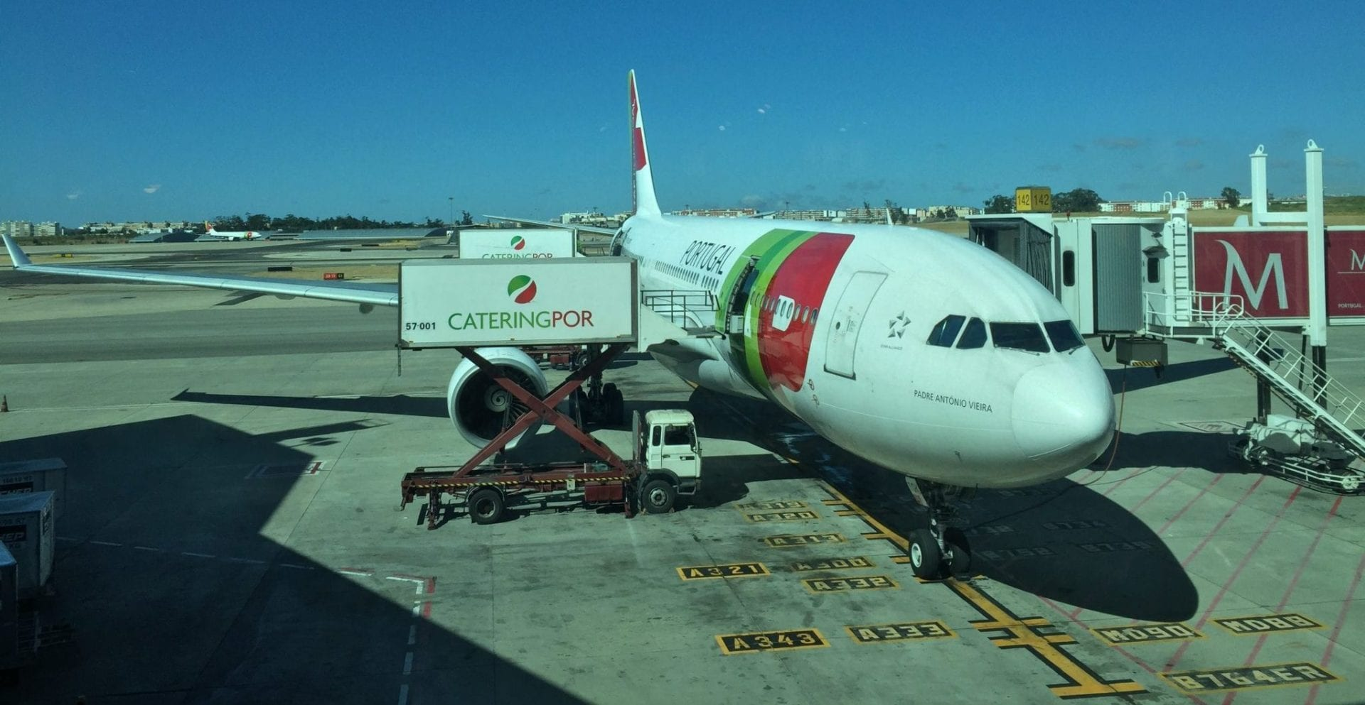 TAP Portugal A330 in Lissabon