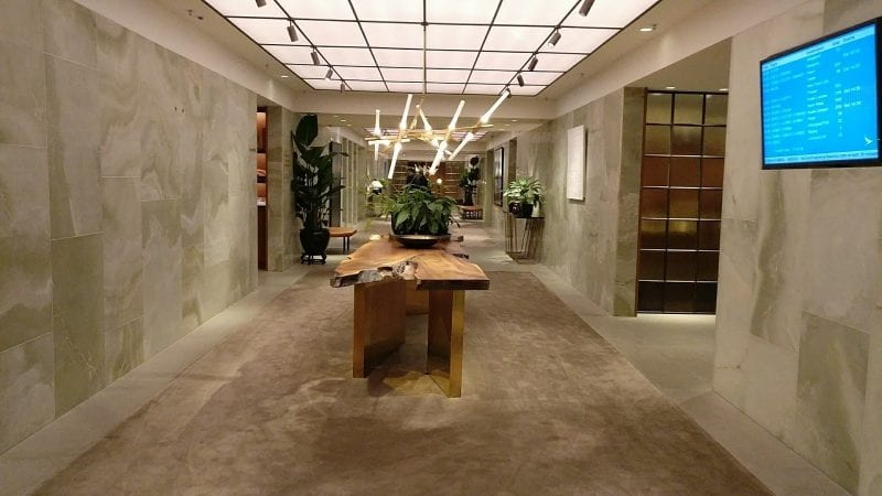 Cathay Pacific The Pier First Class Lounge Hongkong