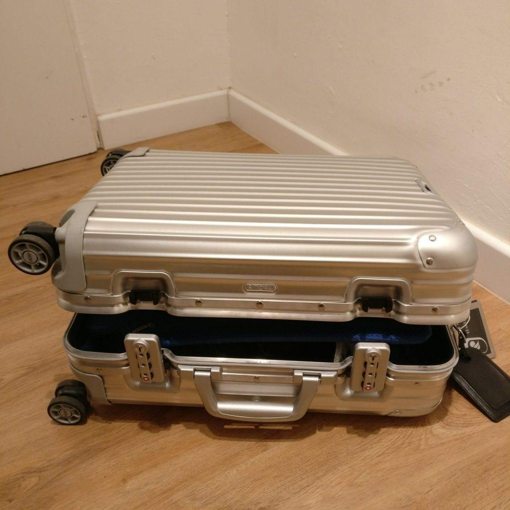 rimowa topas cabin multiwheel iata koffer voll