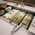 british airways galleries first class lounge london buffet 7