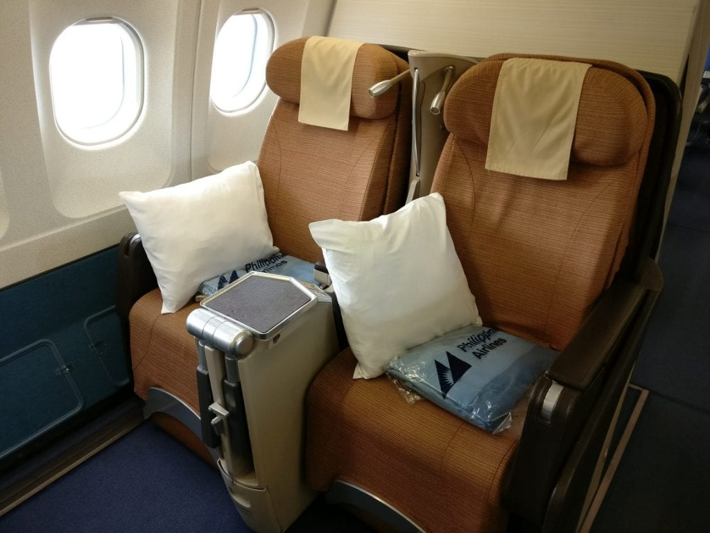 Philippine Airlines Business Class Airbus A340 Seating 2