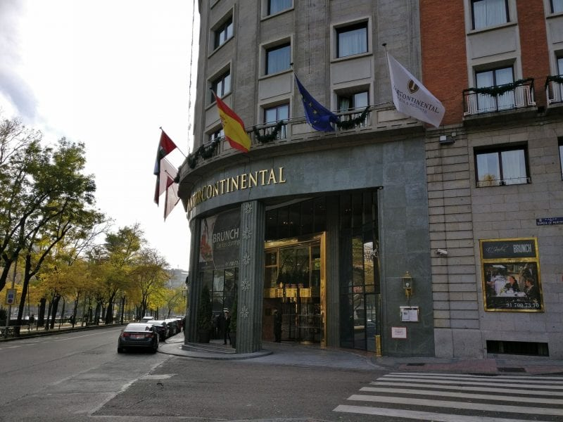InterContinental Madrid Exterior