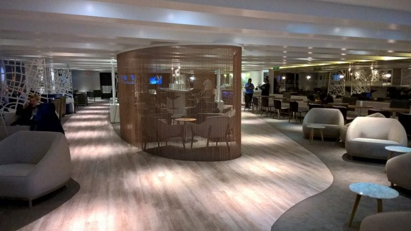 Lounge Area Star Alliance Paris