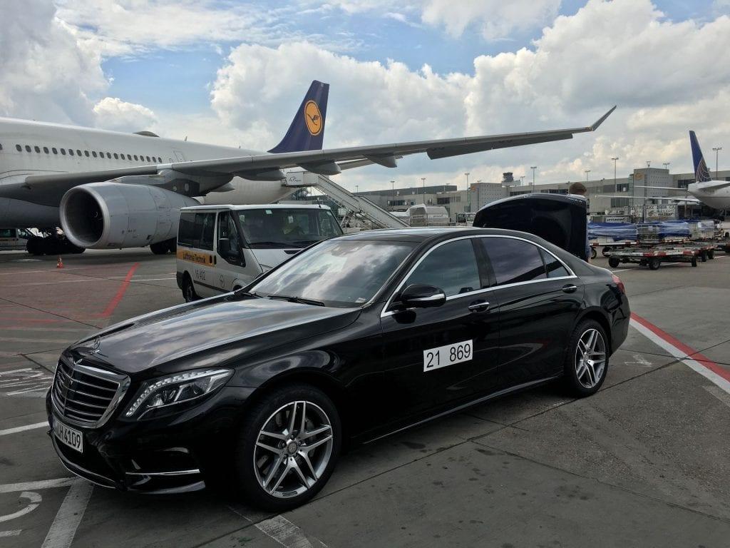 Lufthansa First Class Terminal Frankfurt Restaurant Limousine