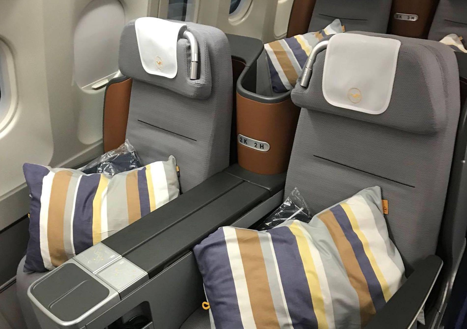Lufthansa Business Class Sitz 5