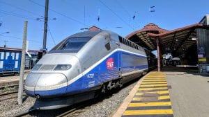 TGV Schnellzug