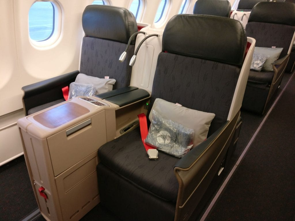 Turkish Airlines Business Class Airbus A330 300 Seat 3