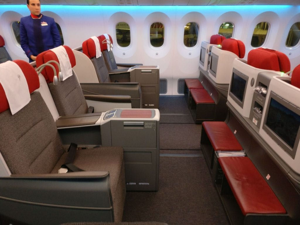 LATAM Business Class Boeing 787 9 Cabin 4