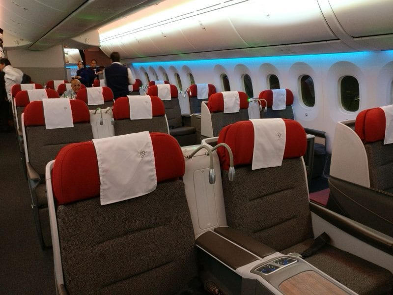 LATAM Business Class Boeing 787 9 Cabin