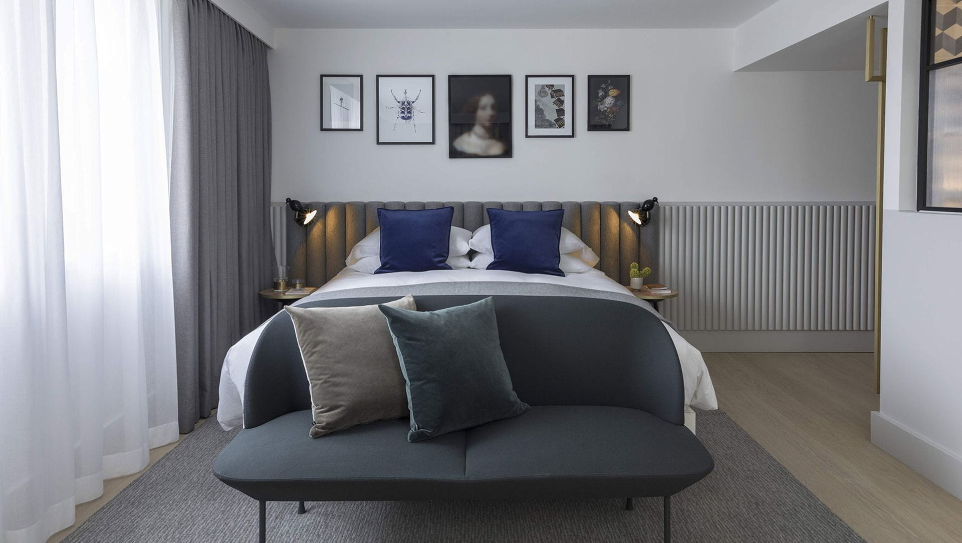 Kimpton DeWitt Amsterdam Zimmer