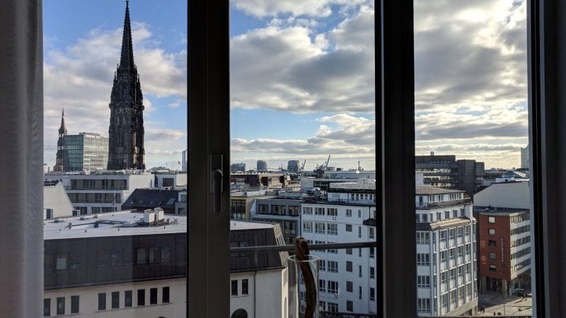 Sofitel Hamburg Stadt Blick