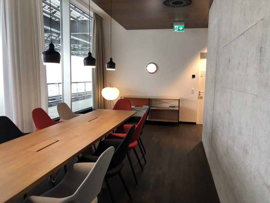 Swiss First Class Lounge E Konferenzsaal
