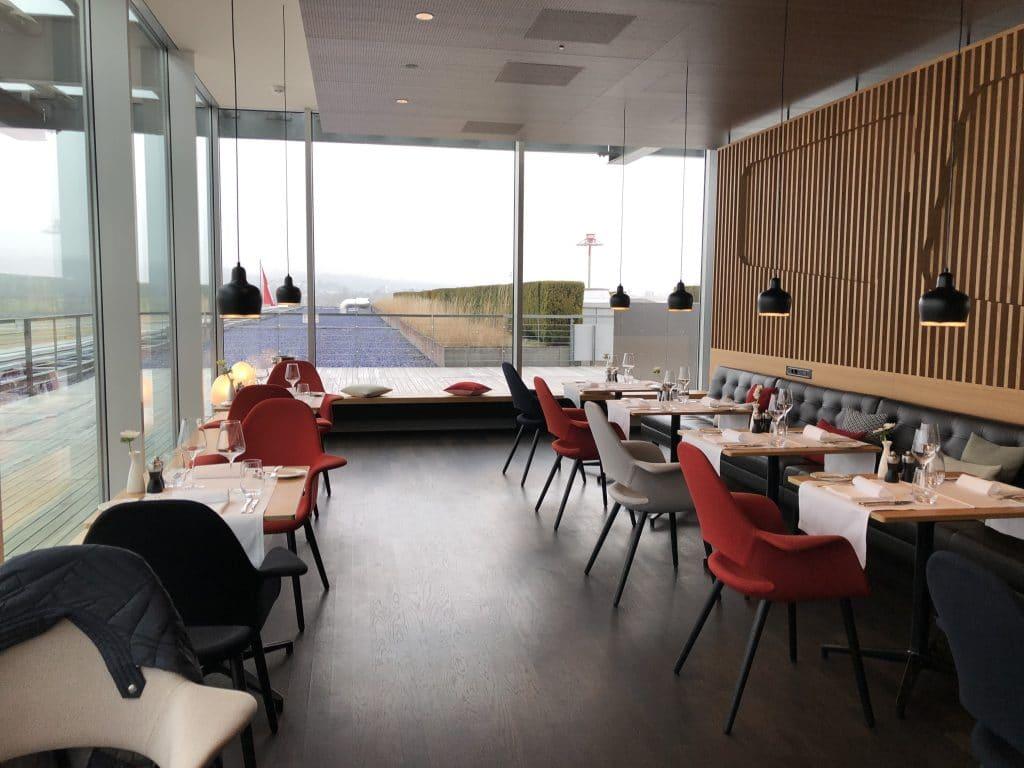 Swiss First Class Lounge E Restaurant