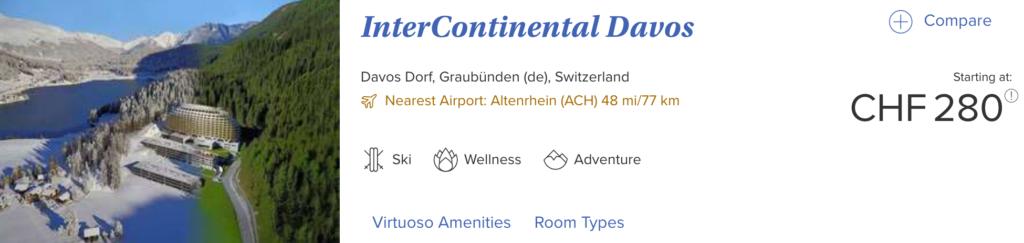 Virtuoso Davos Interconti CHF