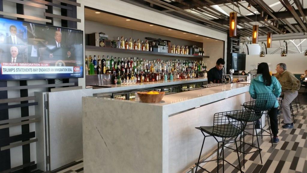 American Express Centurion Lounge Hongkong Bar