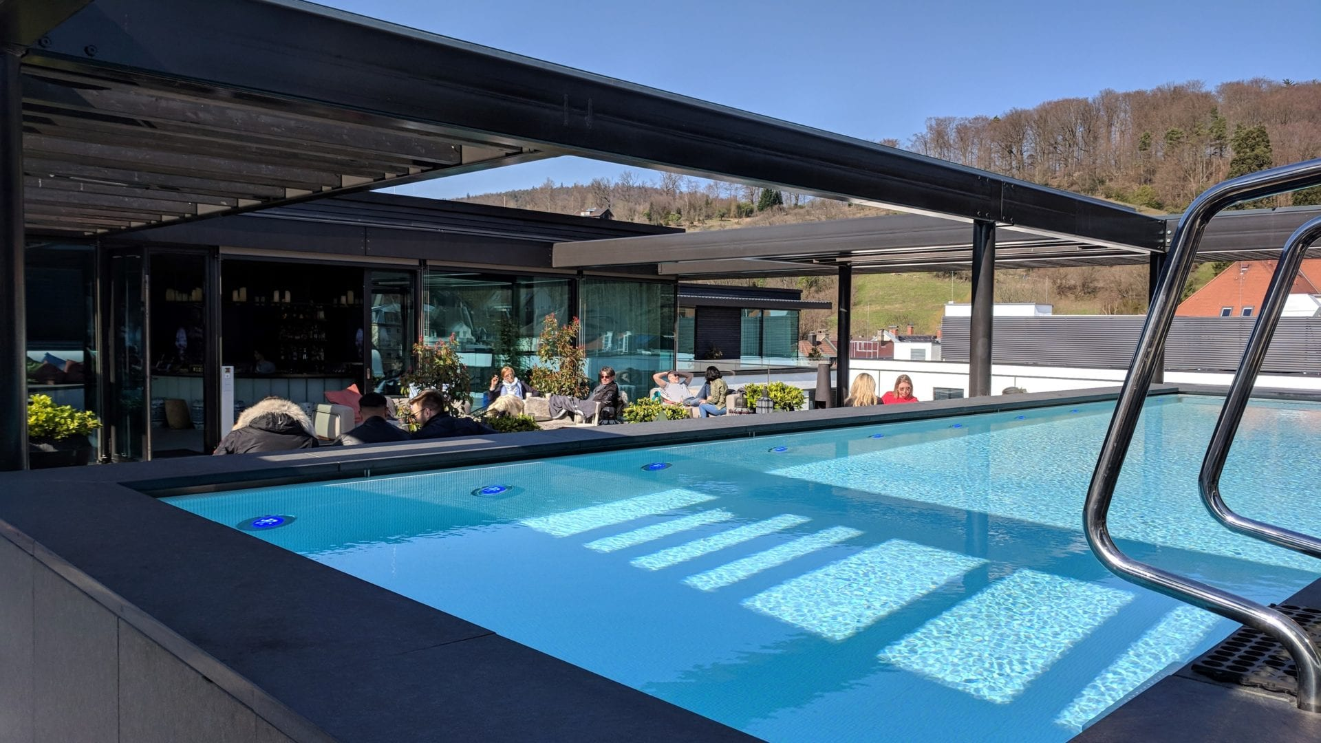 Roomers Baden Baden Rooftop Pool