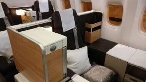 Swiss Business Class Boeing 777 4