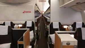 Swiss Business Class Boeing 777 5