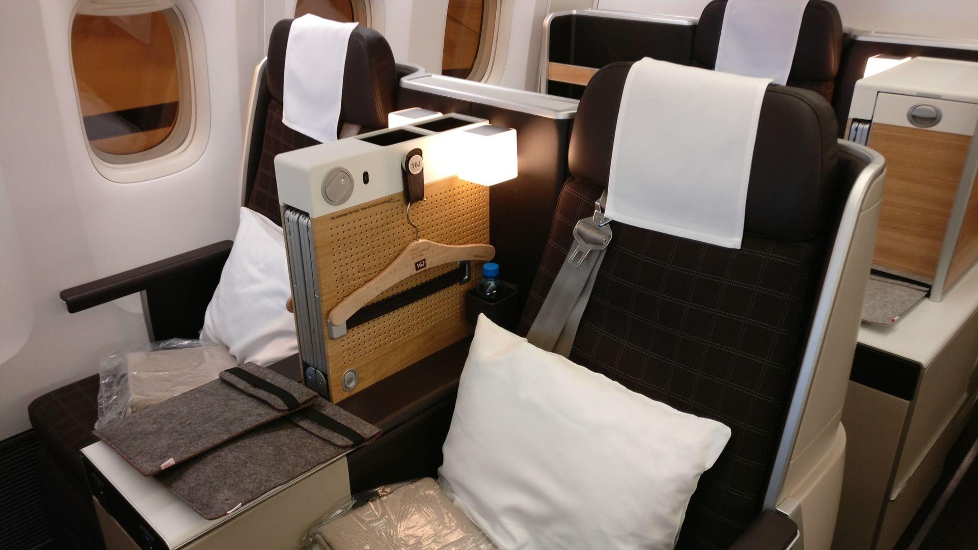 Swiss Business Class Boeing 777 8