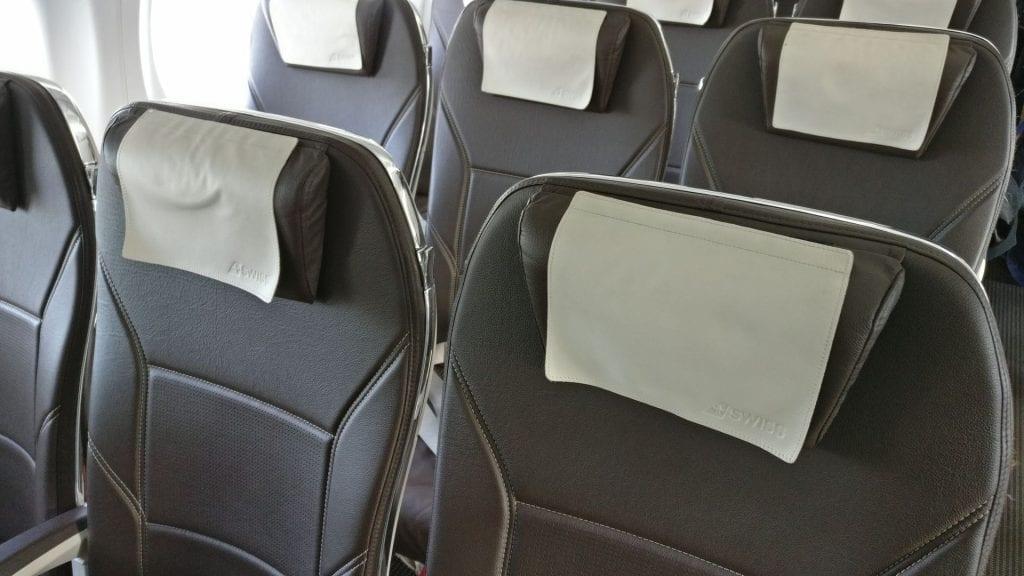 Swiss Business Class CS100 Sitze 3