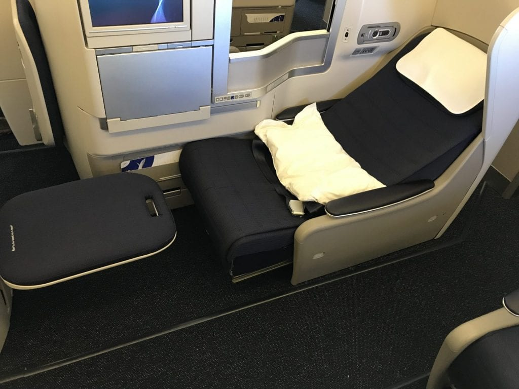 British Airways Business Class B777 Sitz 3