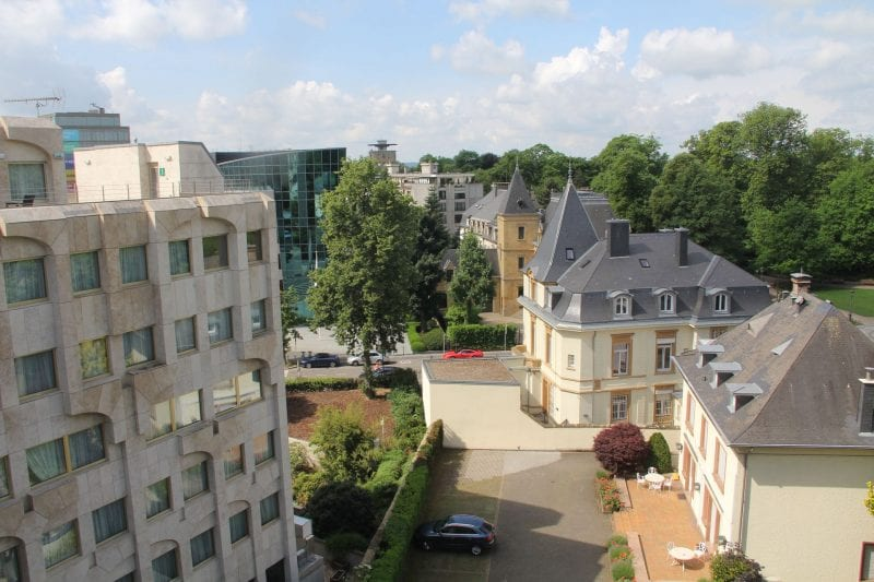 Hotel Le Royal Luxemburg Privilege Room View