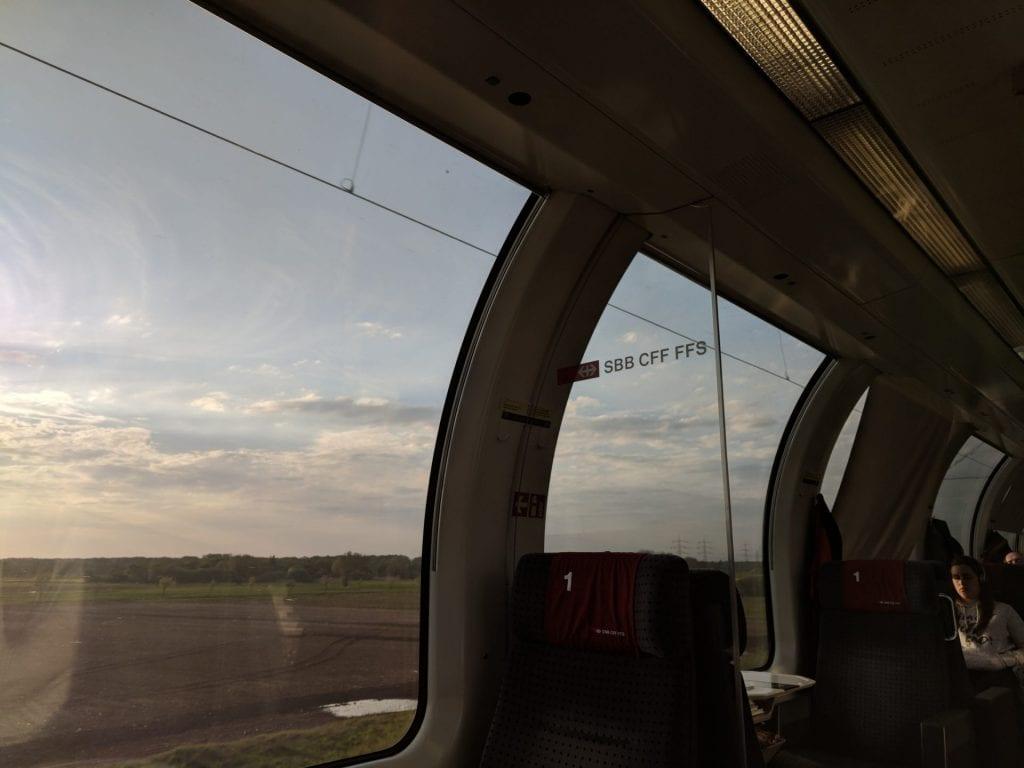 SBB Panorama wagon eurocity