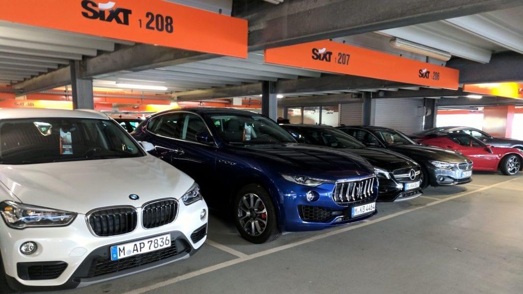 Sixt Düsseldorf Flughafen Mietwagen