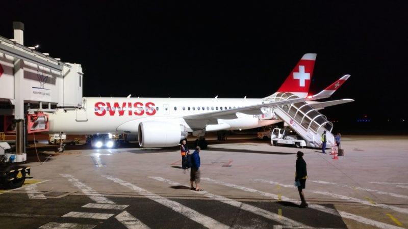 Swiss Bombardier CS 300