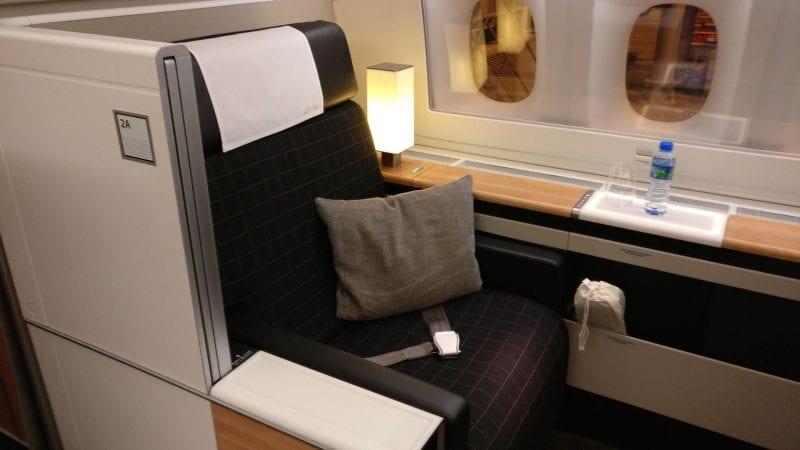 Swiss First Class Boeing 777 Seat 2