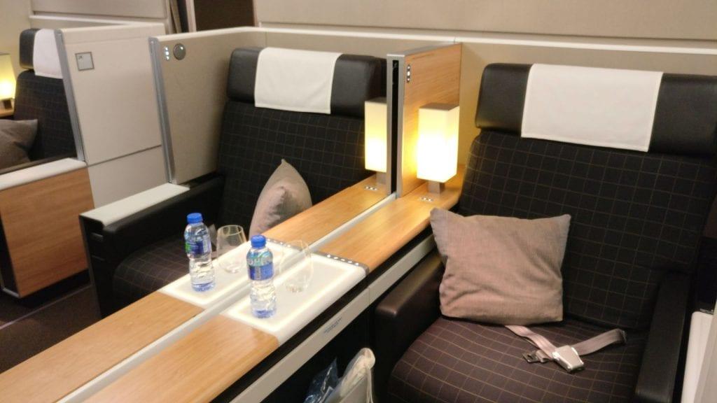 Swiss First Class Boeing 777 Seat 4