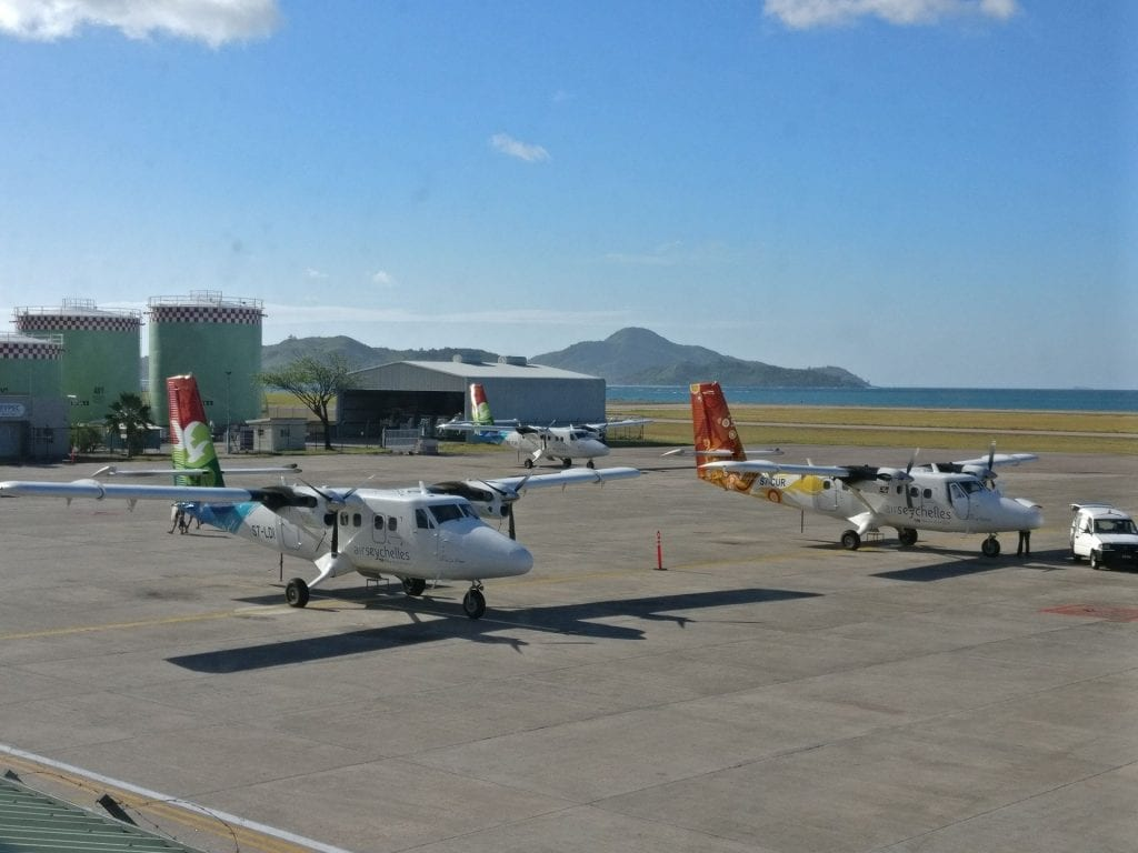 Air Seychelles Lounge Mahe View 2
