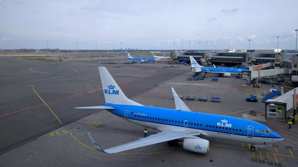 KLM Boeing 737 Amsterdam Schiphol