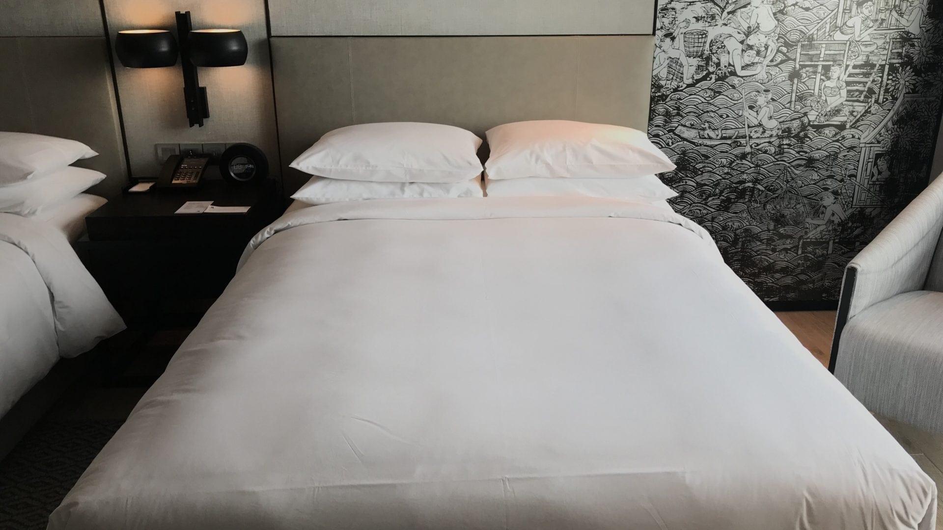 Marriott Bangkok The Surawongse – Bett 1