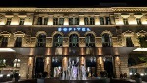 Sofitel München Bayerpost Bei Nacht