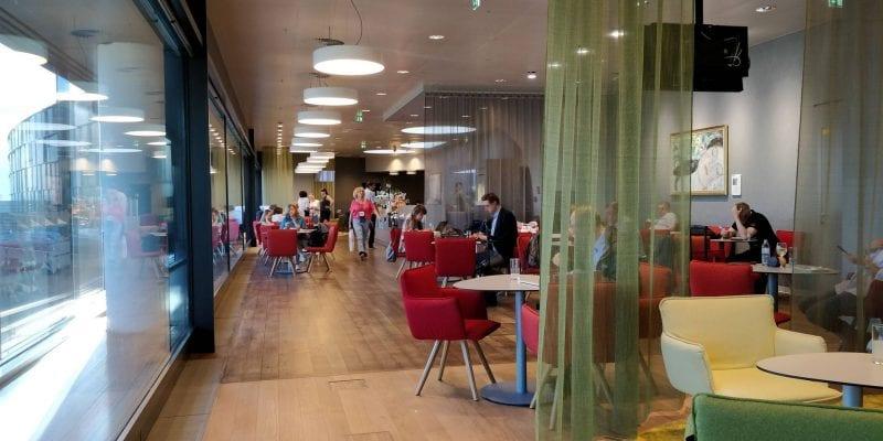 Austrian Airlines Business Class Lounge Wien Non Schengen Raum
