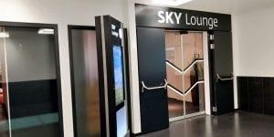 SKY Lounge Wien Eingang