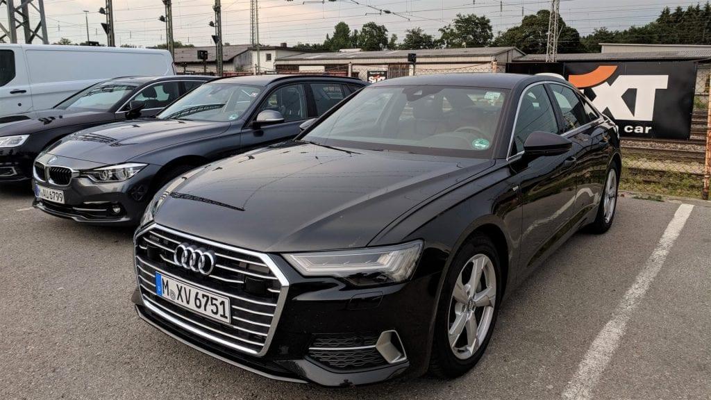 Sixt Mietwagen Station Audi A6