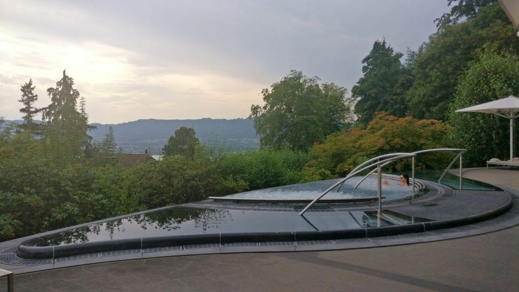 The Dolder Grand Zürich Spa Ausblick