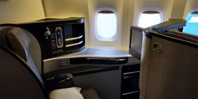 Eva Air Business Class Boeing 777 Fenstersitz 1
