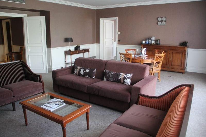 Sofitel Straßburg Imperial Suite Wohnzimmer