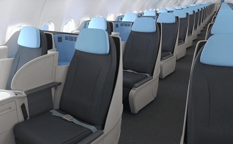 La Compagnie Airbus A321 Business Class