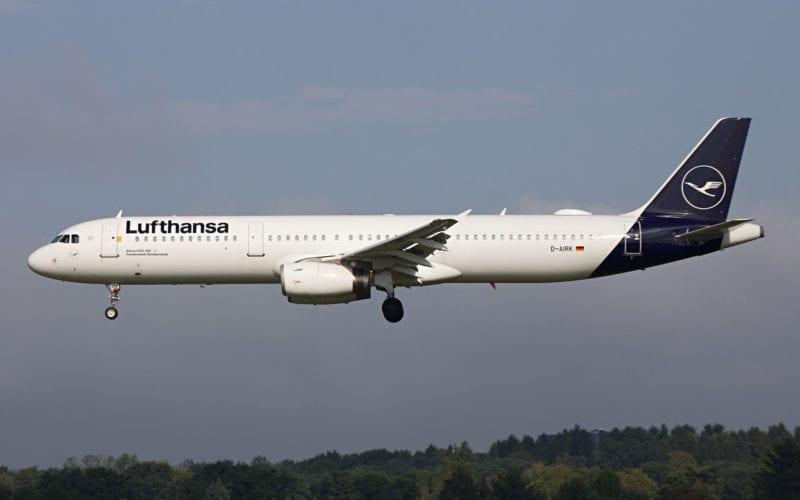 Lufthansa Airbus A321 Neue Lackierung