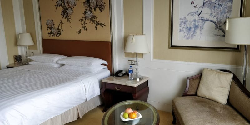 Pudong Shangri La Shanghai Zimmer
