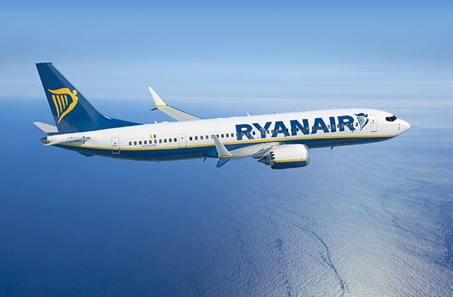 Ryanair Boeing 737 Max Flugzeug