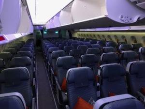 Singapore Airlines Premium Economy Class Ultralangstrecke Kabine 2