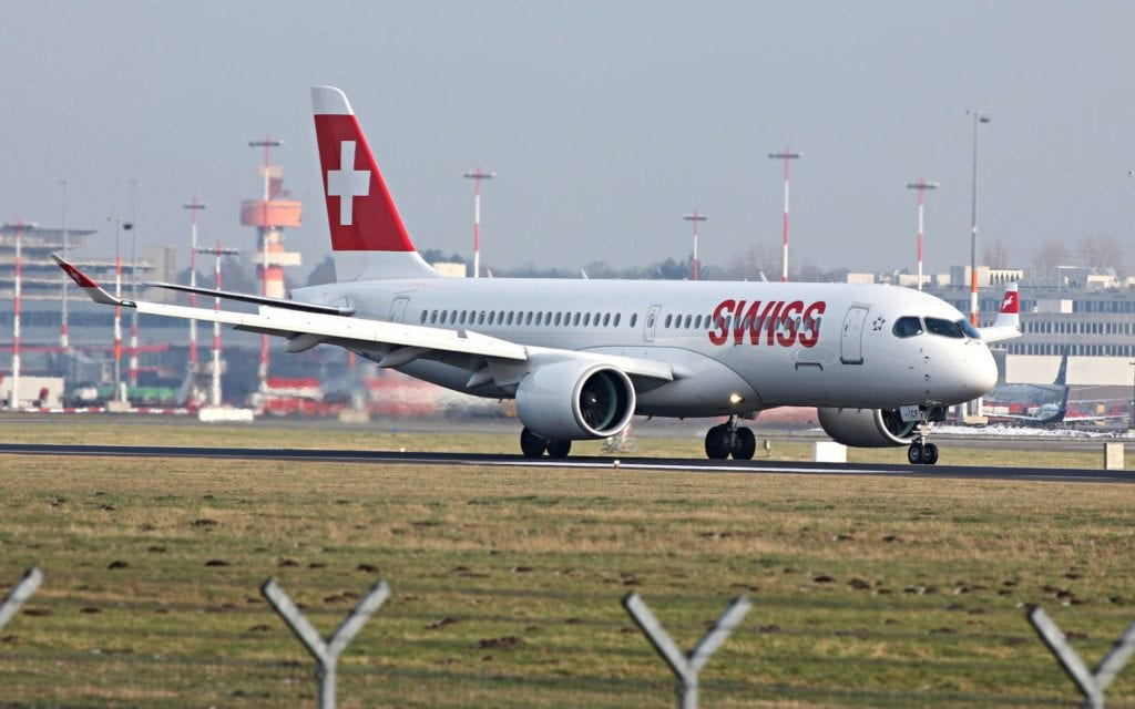 Swiss Airbus A220
