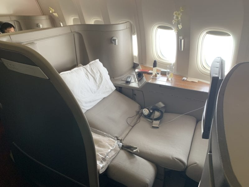 Cathay Pacific First Kabine